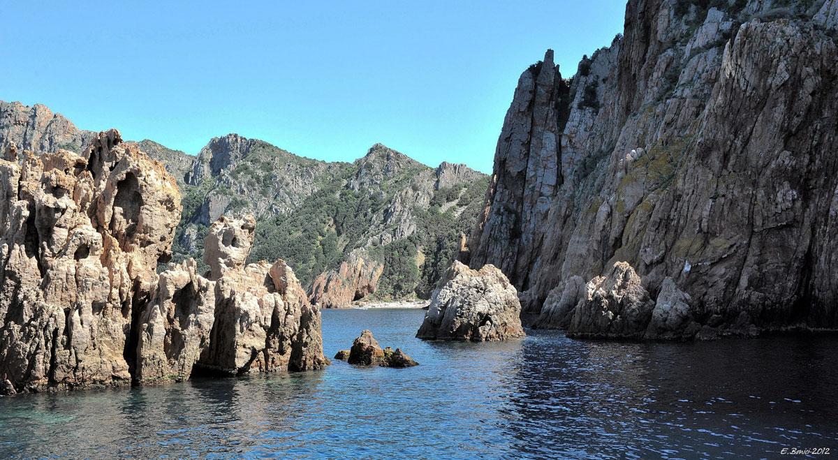 Cargos Paquebots Escapade En Corse Occidentale